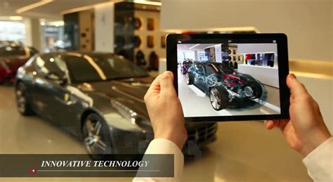 Augmented Reality ferrari s new augmented reality app offers real time