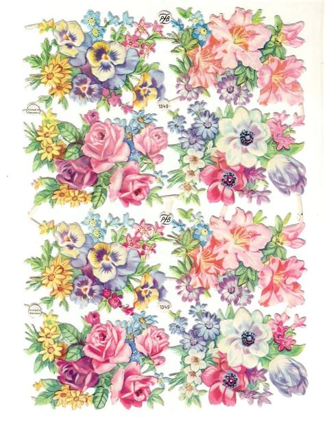 Die Cut Border Paper Bahan Scrapbook Vintage Floral 421 best images about floral butterfly etc stickers on