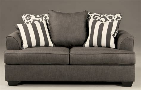 levon charcoal sofa levon collection charcoal sofa loveseat set