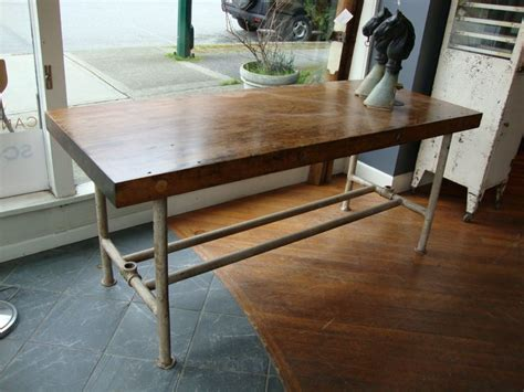 Kitchen Island With Pipe Legs Landon Antiques