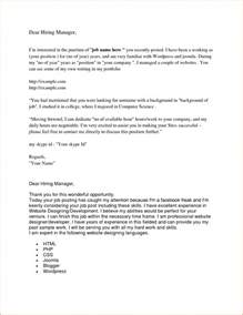 Cover Letter No Contact Name by How To Begin A Cover Letter When No Name Is Given