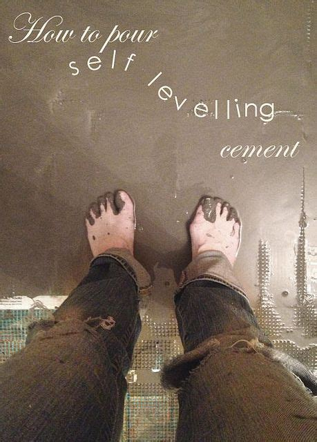 How to pour self levelling cement yourself.   Vinyls, Root