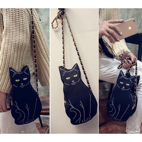 Tas Wanita Keren Kucing jual tas anak abg gaul selempang unik bentuk kucing