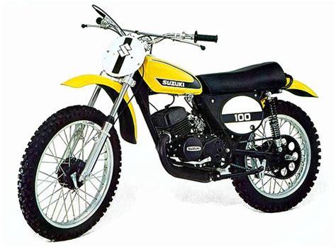Suzuki Tm 75 Suzuki Tm 125 Tm 100 Tm 75 1973 1975