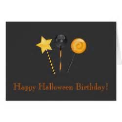 happy halloween birthday images happy halloween birthday festive lollipops card zazzle