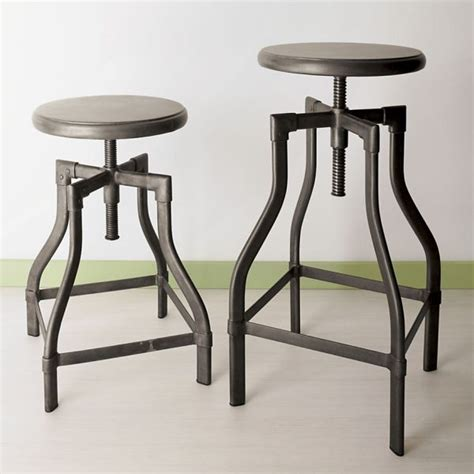 metal kitchen bar stools industrial metal stools decoist