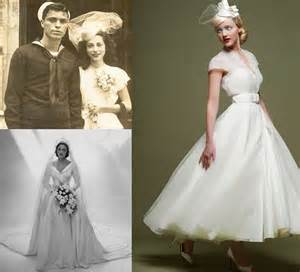 Vintage inspired bridal gown by loulou bridal original 1940s bridal