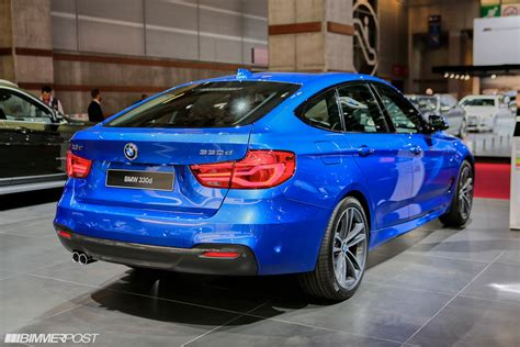 new bmw 3 series gran turismo lci debuts at auto show