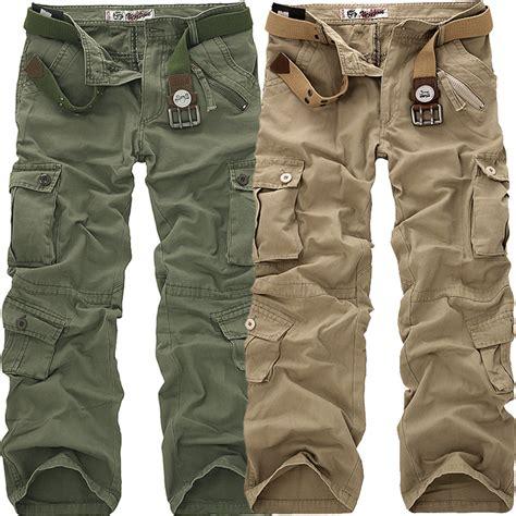 Celana Cargo Size 33 Comat Cardinal fashion celana militer pria camo kamuflase celana baggy di luar kasual katun celana kargo