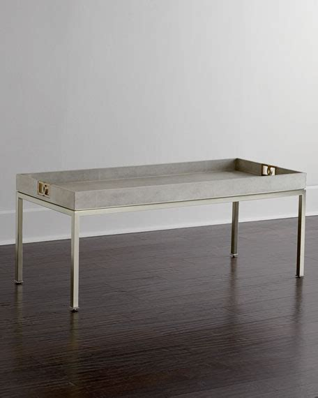 bernhardt stockhart coffee table