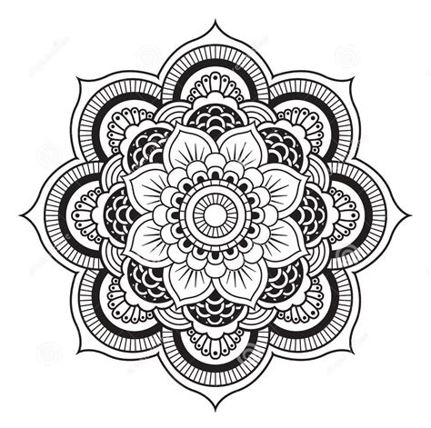 Mandala Coloring Pages Only Coloring Pages