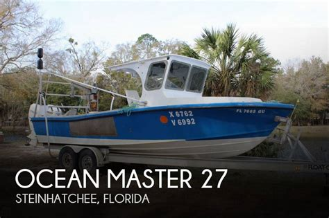 used ocean master boats for sale in florida for sale used 1987 ocean master 27 in steinhatchee