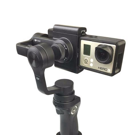 Dji Mobile adapter for dji osmo mobile gimbal transfer to gopro 3 3 4 price 8 99 racer lt