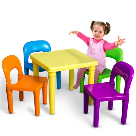 kids table  chairs play set toddler child toy activity furniture  outdoor ebay