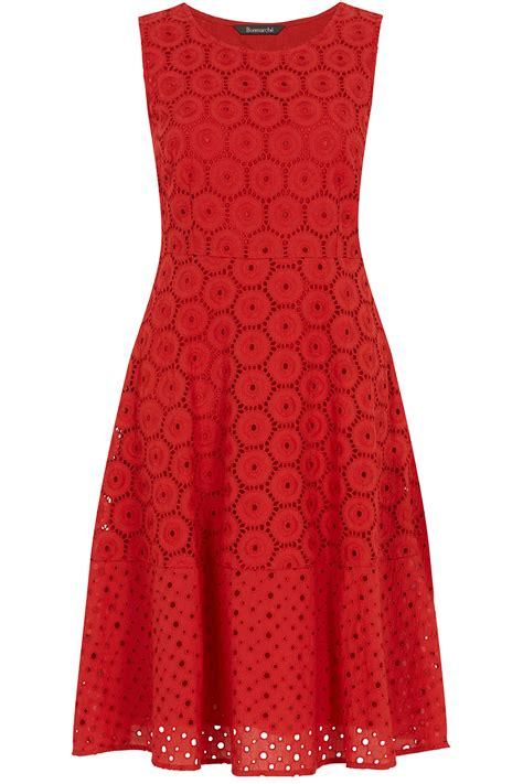 Ladie Dress signature embroidered dress