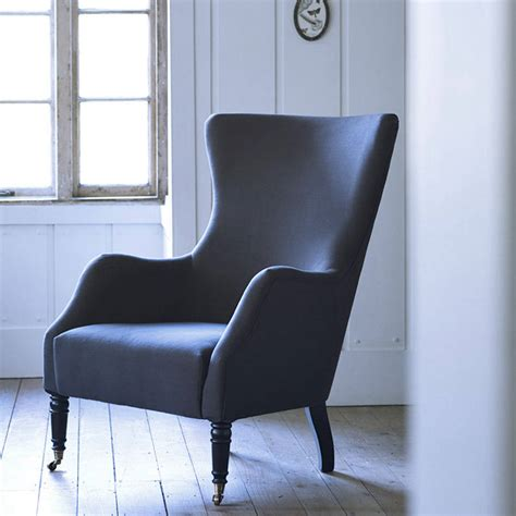 Blue Armchair Design Ideas Bromley Wing Back Chair By Rowen Wren Notonthehighstreet