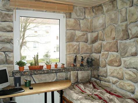 wandgestaltung wohnzimmer stein wandtattoos stein wohnzimmer surfinser