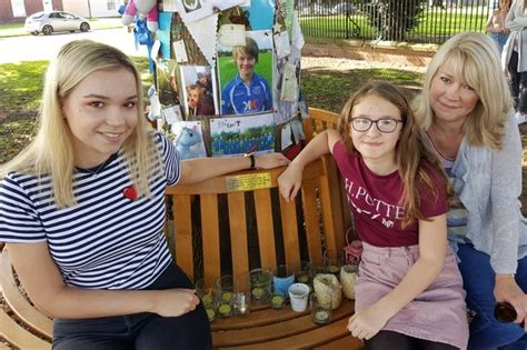 sister company of bench friends of tragic george 15 unveil bench in memory of