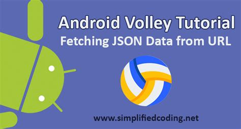tutorial android volley android volley tutorial fetching json data from url
