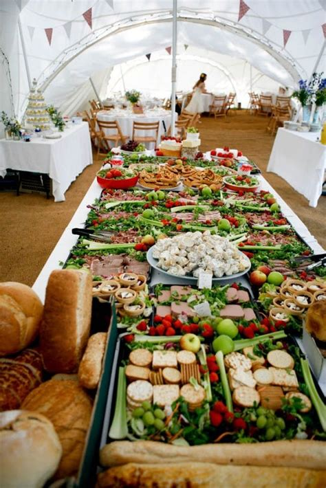 wedding food on a budget 14 creative wedding buffets to save your budget brit co