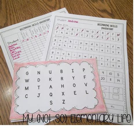 basic reading inventory kindergarten through grade twelve and early literacy assessments the 25 best kindergarten assessment ideas on