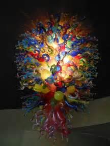 Glass Chandelier Artist Blown Glass Chandelier By Discoinferno84 On Deviantart