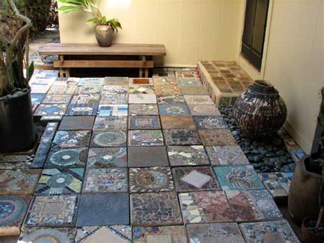 Patio Mosaic Ideas Top 17 Mosaic Garden Decor Designs Start An Easy
