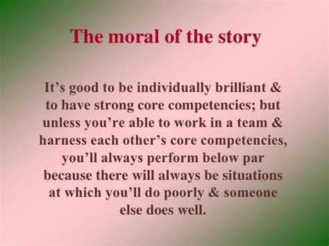 the moral of the story a storyteller s guide to helping brands build relationships with books team work story