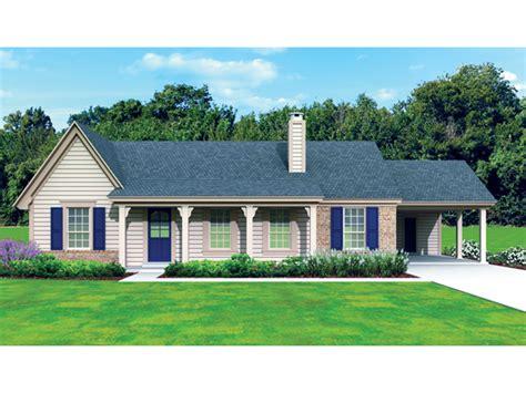 House Plans Lafayette La Lafayette Creek Ranch Home Plan 087d 1675 House Plans