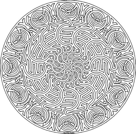 detailed mandala coloring pages free printable abstract coloring pages for adults