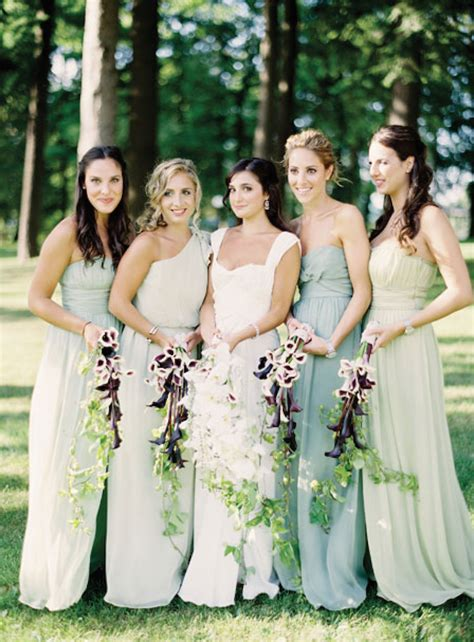 Grey Complimentary Colors by 35 Ideas For Mix And Match Bridesmaid Dresses