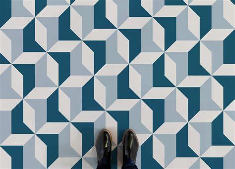 geometric pattern floor tiles kensington atrafloor