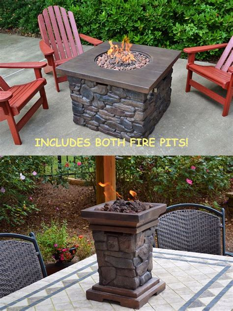 Small Outdoor Propane Pit Tortuga Outdoor Backyard Deck Yosemite Ii Propane Pit