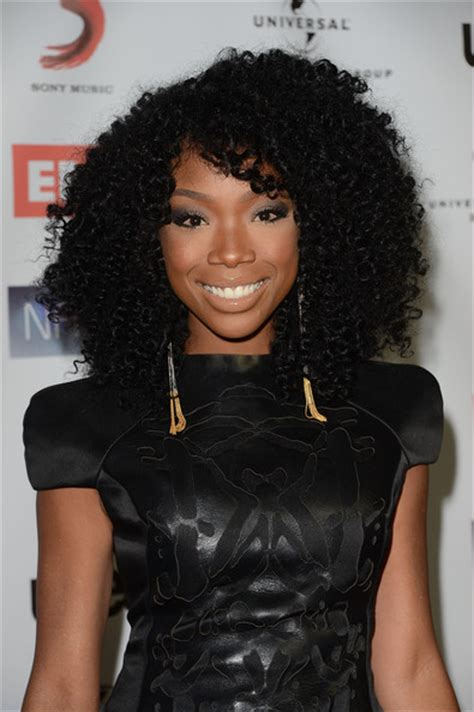 brandy loves natural hair but says as an actress she has brandy leather dress narm