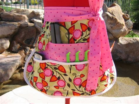 sewing utility apron vendor apron half apron with 6 pockets utility