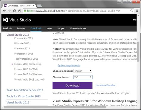 tutorial visual studio express 2013 download the freeimage glew and glut libraries