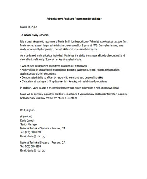 Assistant Hospital Administrator Cover Letter by 93 Exles Of Cover Letter For Administrative Assistant General Administrative Assistant