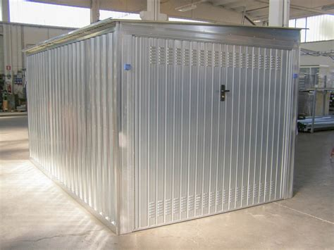 box per auto in lamiera box auto prefabbricato in lamiera zincata componibile a