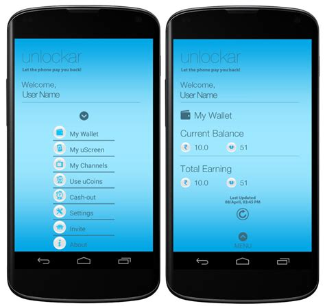 lock screen apps for android unlockar lock screen app for android pays you to unlock your device