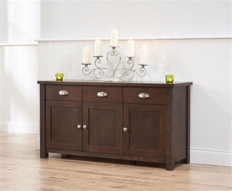 sandringham  door  drawer sideboard dark oak rustic