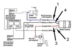 trailer brake controller information diagram of a brake controller intallation electric brake