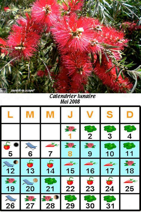 Calendrier Lunaire Novembre 2008 Jardiner Avec La Lune Au Mois De Mai 2008 Le