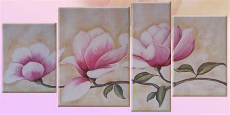 fiori da dipingere su tela quadri floreali dipinti a mano ad olio e acrilico