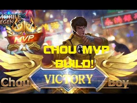 wallpaper mobile legend chou mobile legends chou mvp build chou mvp gameplay