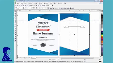 corel draw x3 tutorial youtube creata a certificate for corel draw x3 tutorial in tamil