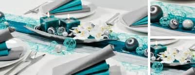 silber dekoration tischdekoration zur silberhochzeit in t 252 rkis und silber