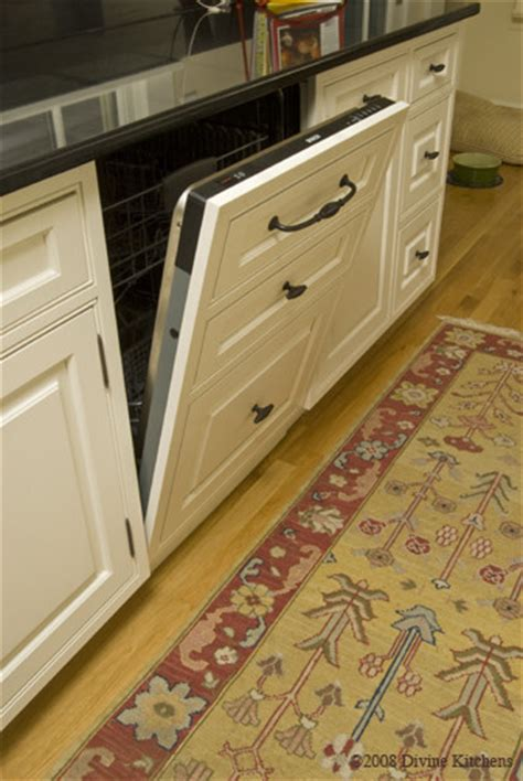 Dishwasher Kitchen Cabinet Is This Dishwasher Flush With The Rest Of The Cabinets When Closed I Am In The Middle Of A