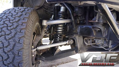 prerunner truck suspension vdf ford ranger edge 4wd travel suspension vegas