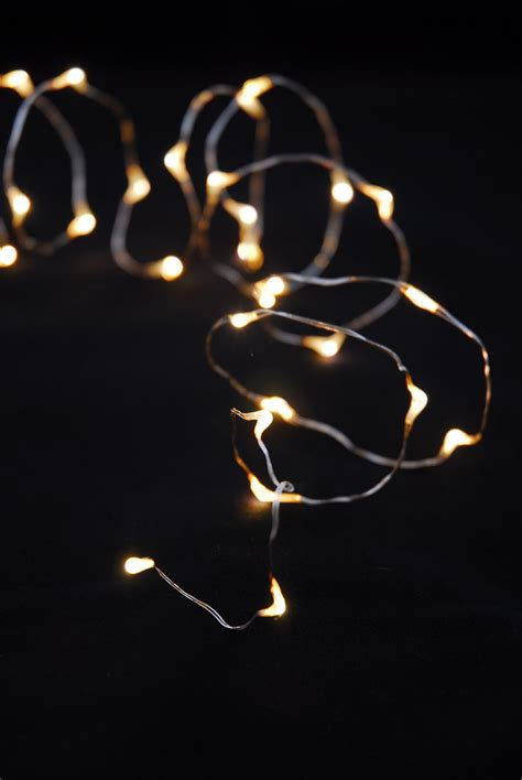 Led Warm White String Lights Battery Op 7ft 20ct Pack Of 6 Led White String Lights