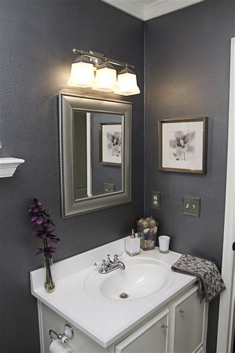 grey white and purple bathroom 88 best powder room images on pinterest bathroom small